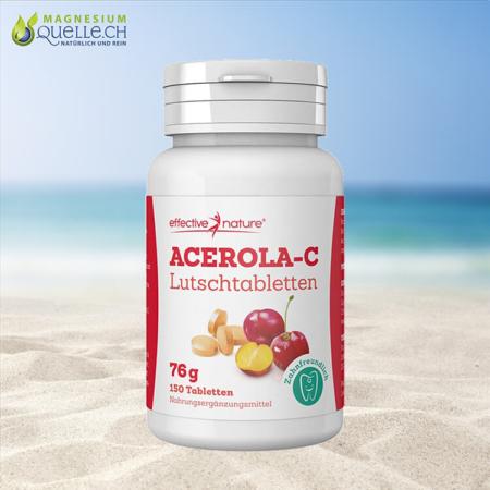 Acerola Vitamin C 150 Lutschtabletten