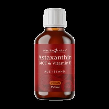 Astaxanthin flüssig - MCT-Öl mit Vitamin E 150 ml kaufen