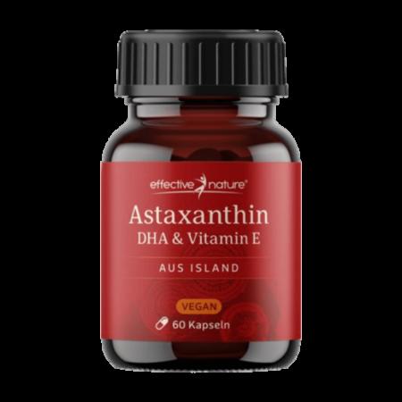 Astaxanthin mit DHA und Vitamin E 60 Kapseln kaufen