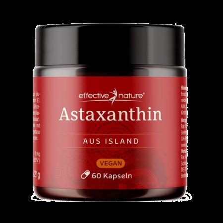Astaxanthin mit Vitamin E vegan 60 Kapseln
