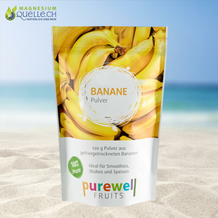 Bananen Pulver 120 g – Superfood