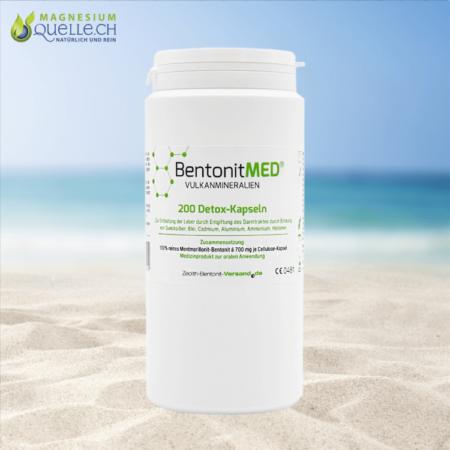 Bentonit MED Detox 200 Kapseln