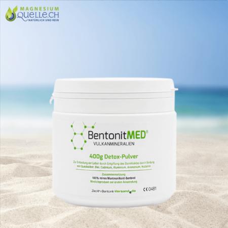 Bentonit MED Detox Pulver 400 g