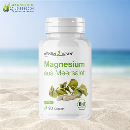 Bio Magnesium aus Meersalat 90 Kapseln