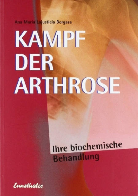 Buch Kampf der Arthrose Magnesiumchlorid Ana Ana Maria Lajusticia Bergasa