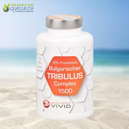 Bulgarischer Tribulus Complex 1500 mg Kapseln