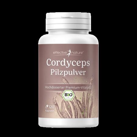 Cordyceps Bio Pilzpulver 90 Kapseln