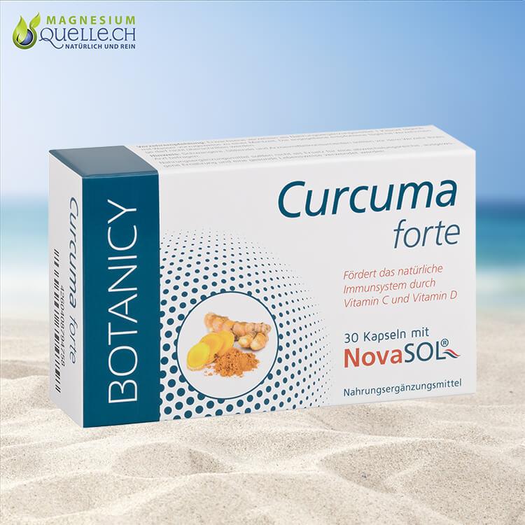 Curcuma Forte mit NovaSol Curcumin Kapseln kaufen