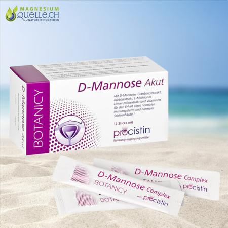 D-Mannose Akut + Cranberry Sachets