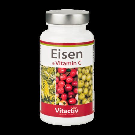 Eisen & Vitamin C 60 Kapseln kaufen