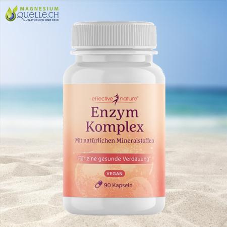 Enzymkomplex mit Magnesium und Calcium 90 Kapseln