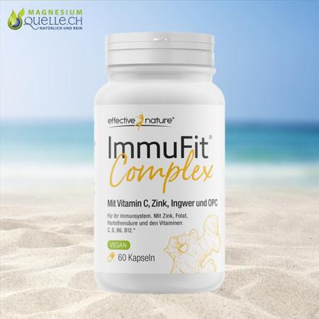 ImmuFit Complex Vitamin C, Zink, OPC 60 Kapseln