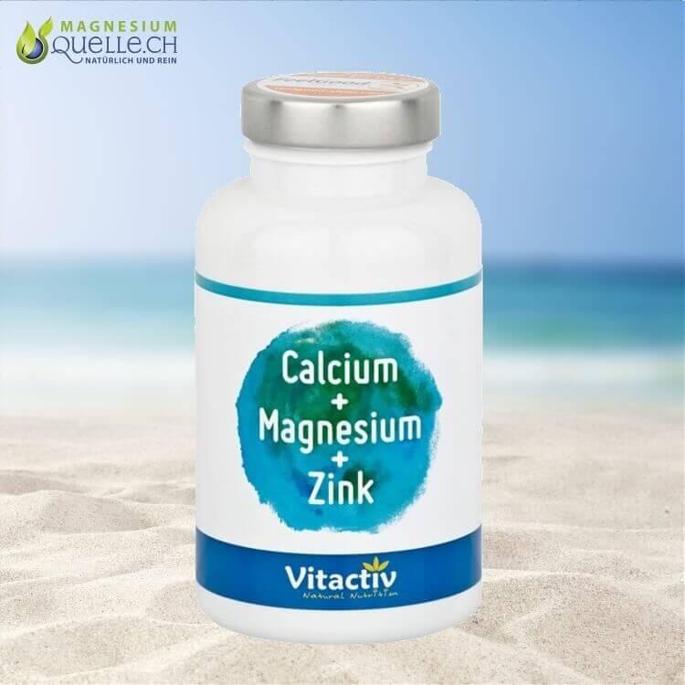 KALZIUM & MAGNESIUM & ZINK Tabletten kaufen Schweiz