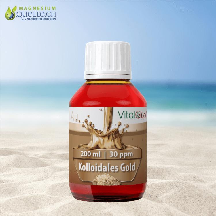 Kolloidales Gold 30 ppm 200 ml