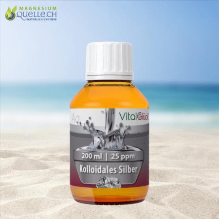 Kolloidales Silber 25 ppm 200 ml