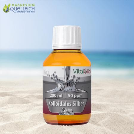Kolloidales Silber 50 ppm 200 ml