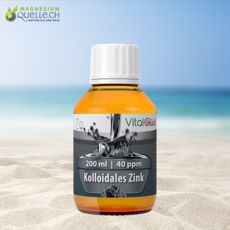 Kolloidales Zink 40 ppm 200 ml
