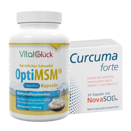 MSM Kapseln + Curcuma Forte kaufen