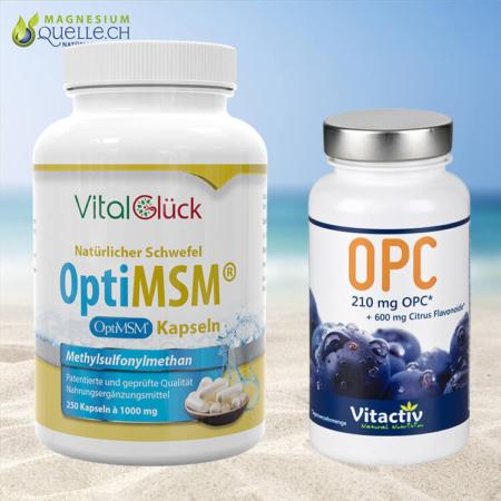 MSM OptiMSM Kapseln + OPC