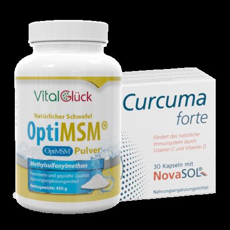 MSM Pulver + Curcuma Forte kaufen