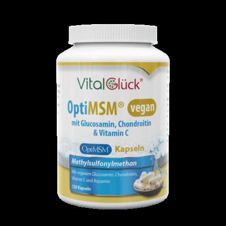 MSM mit Glucosamin & Chondroitin VEGAN Kapseln kaufen