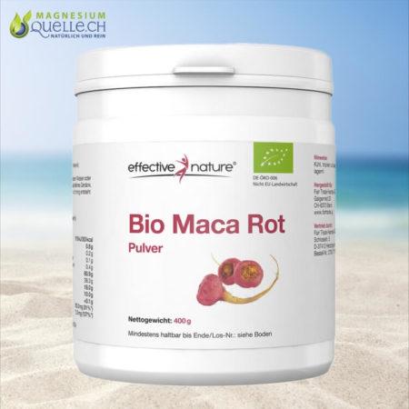 Maca Pulver rot Bio kaufen