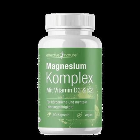 Magnesium Komplex mit Vitamin D3 & K2