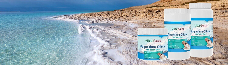 Magnesiumchlorid vom Toten Meer kaufen 500 bis 10000 g