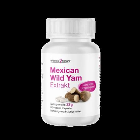 Mexican Wild Yam – Yamswurzel Extrakt 60 Kapseln