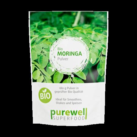 Moringa BIO Pulver 180 g – Superfood kaufen