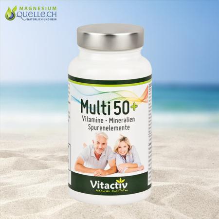 Multi 50+ Vitamin & Mineralstoff-Komplex Kapseln