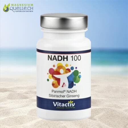 NADH 100 mit Ginseng Coenzym 1 kaufen Schweiz