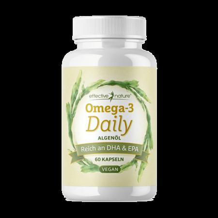 Omega-3 Daily vegan - DHA & EPA 60 Kapseln
