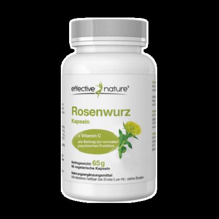 Rosenwurz (Rhodiola rosea) mit Acerola Extrakt 90 Kapseln kaufen