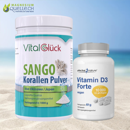 Sango 1000 + Vitamin D3 Forte