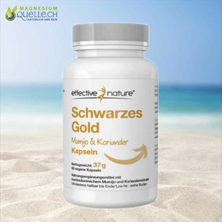 Schwarzes Gold Mumijo und Koriander Extrakt Kapseln 60 Stk kaufen