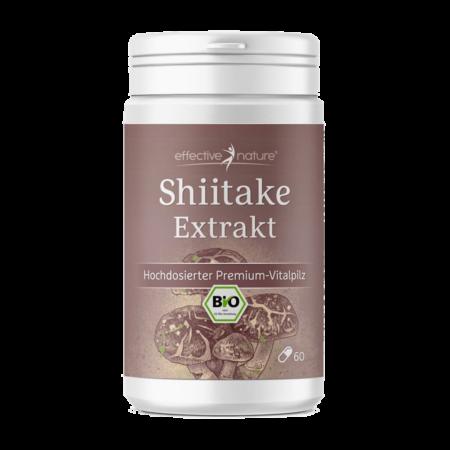 Shiitake Extrakt BIO 60 Kapseln kaufen