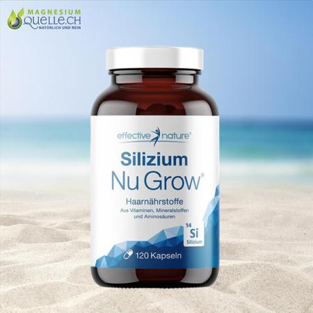 Silizium Nu Grow Haarnährstoffe 120 Kapseln