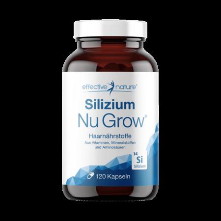 Silizium Nu Grow Haarnährstoffe 120 Kapseln kaufen