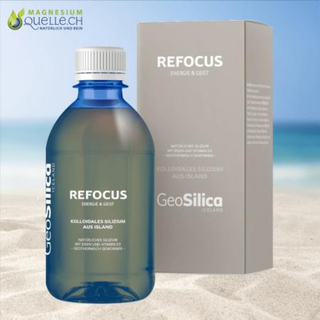 Silizium Refocus Kolloidales Silizium Energie und Geist GeoSilica