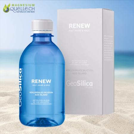 Silizium Renew Kolloidales Silizium Haut, Haare und Nägel GeoSilica