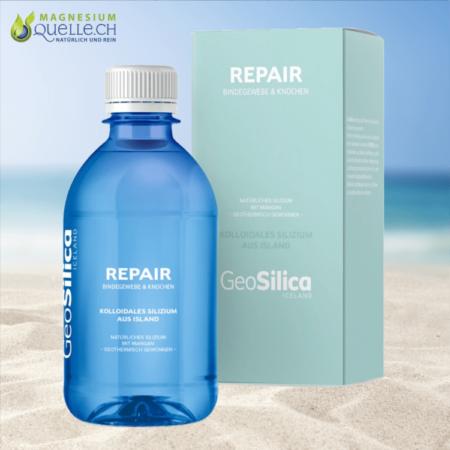 Silizium Repair Kolloidales Silizium Bindegewebe und Knochen GeoSilica