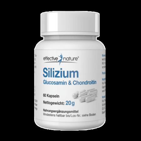 Silizium mit Glucosamin + Chondroitin 60 Kapseln kaufen