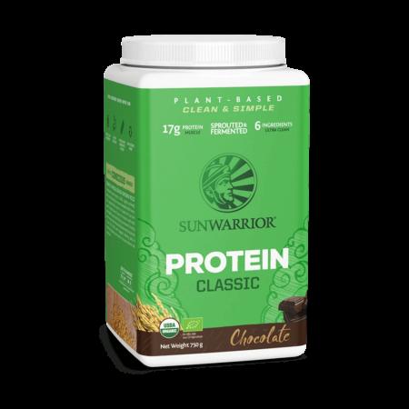 Sunwarrior Classic Protein Pulver BIO schokolade