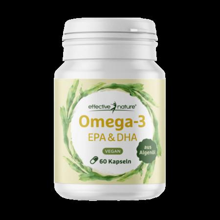 Veganes Omega-3 EPA und DHA Algenöl 60 Kapseln kaufen