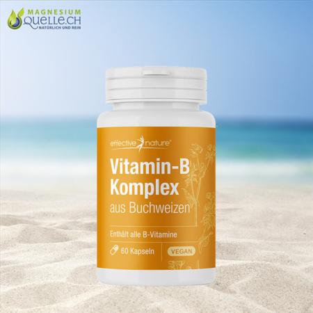 Vitamin B Komplex vegan 60 Kapseln