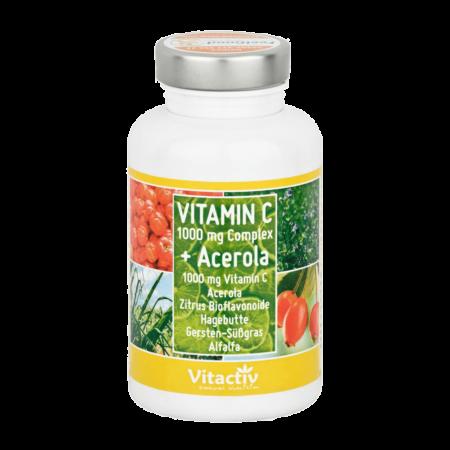 Vitamin C 1000 mg Complex mit Acerola 100 Tabletten kaufen