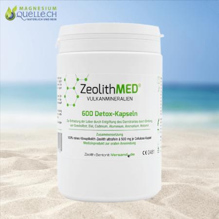 Zeolith MED Detox 600 Kapseln
