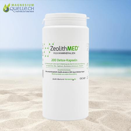 Zeolith MED Detox Kapseln