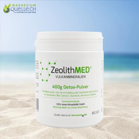 Zeolith MED Detox Pulver 400 g